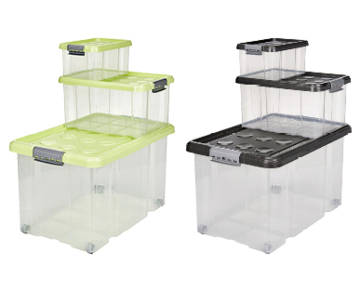 Bild 2 von EASY HOME®  Stapelboxen-Set
