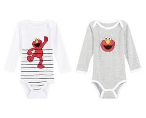 2 Langarm-Baby-Bodys