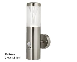 casalux LED-Außenleuchte mit Bewegungsmelder