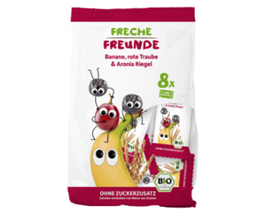 Freche Freunde Bio-Früchte-Getreide-Riegel