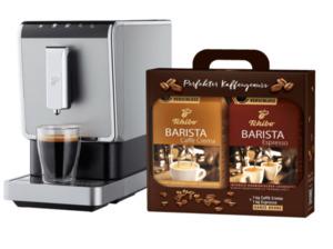 TCHIBO 504964 Esperto Caffè Kaffeevollautomat in Schwarz/Silber