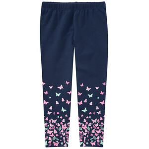 Mädchen Leggings mit Schmetterling-Prints