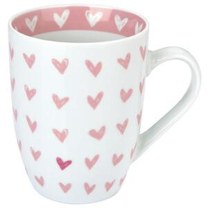 Tasse mit Herz-Allover