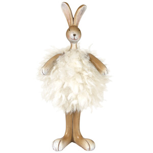 Deko-Figur Hase aus Plüsch