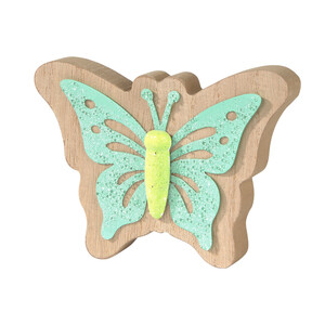 Kleiner Deko-Schmetterling mit Glitzerdetails