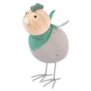Deko-Figur Vogel aus Keramik