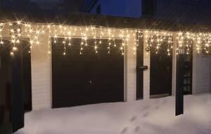 LED Eisregen-Lichterketten verschiedene Längen und Lichtfarben