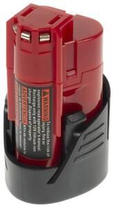 Werkzeugakku Milwaukee 12 Volt/ 2500 mAh XCell