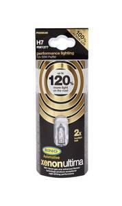Glühlampen Xenon Ultima - 120% mehr Licht, Inhalt 2 Stück, für verschiedene Fahrzeugtypen Ring