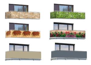 Sichtschutz für Balkon und Terrasse Wenko