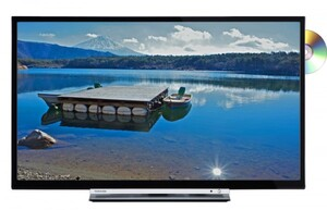 Toshiba LED TV 32D3863DA, integrierter DVD Player ,  80 cm (32 Zoll) Bildschirmdiagonale, Smart TV