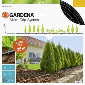 GARDENA Micro-Drip System Start-Set Pflanzreihen M 13 mm (1/2') Ø Schlauchlänge: 25 m 13011-20