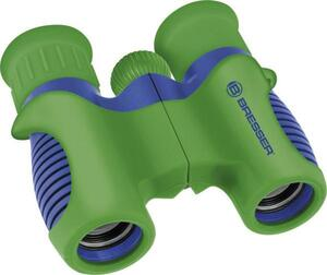 Bresser Optik Fernglas Kinderfernglas Junior 6 x 21mm Dachkant Blau-Grün