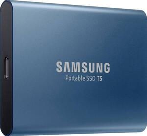 Samsung Portable T5 Externe SSD Festplatte 250GB Ocean Blue USB-C™ USB 3.1