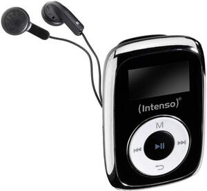 Intenso Music Mover MP3-Player 8GB Schwarz Befestigungsclip