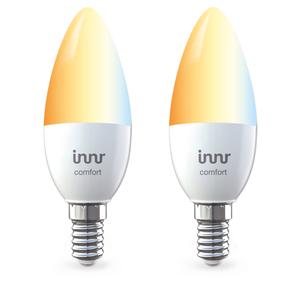 Innr LED E14 Lampe tunable white 2er pack, Philips Hue und Osram Lightify kompatibel, Zigbee 3.0