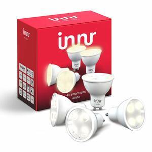 Innr LED GU10 Smart LED Spot White, 4er Pack, Philips Hue kompatibel