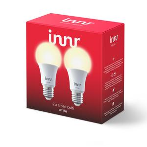 Innr 2x E27 retrofit LED Lampe, warm white, Philips Hue und Osram Lightify kompatibel, Zigbee 3.0