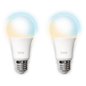 Innr Smart Bulb LED E27 Lampe 2er Pack, Philips Hue und Osram Lightify kompatibel, Zigbee 3.0