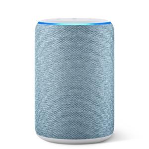 Amazon Echo (3. Generation) smarter Lautsprecher mit Alexa - Dunkelblau Stoff