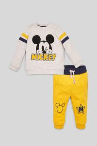 C&A Micky Maus-Baby-Outfit-2 teilig, Weiß, Größe: 80