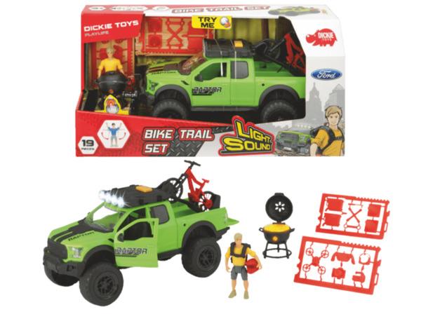 DICKIE TOYS Bike Trail Set Spielzeugauto