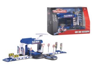 DICKIE TOYS Dickie toys Creatix Polizei Wache + 1 Auto Spielset