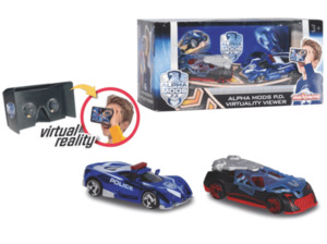 DICKIE TOYS Alpha Mods PD Virtuality Viewer + 2 Autos RC Spielzeugauto