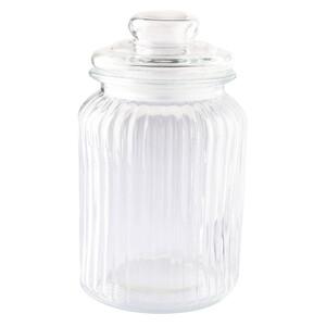 Mittelgroßes Vorratsglas mit Deckel