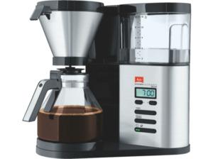 MELITTA 1012-03 Aroma Elegance Deluxe  Kaffeemaschine Edelstahl/Schwarz