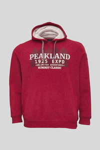 C&A Sweatshirt, Rot, Größe: 5XL
