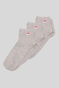 C&A FILA-Sneakersocken-3 Paar, Grau, Größe: 43-46