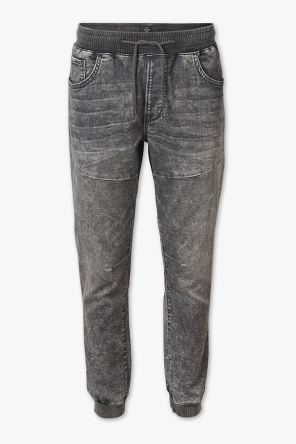 C&A THE TAPERED JEANS-Jog Denim, Grau, Größe: XXL