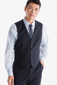 C&A Businessweste-Regular Fit, Blau, Größe: 52