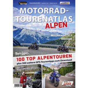 """Motorrad Tourenatlas """"Alpen"""""""