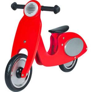 Pinolino Laufrad Roller Wanda        Birkenholz, rot