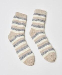 Hunkemöller Kuschelige Socken mit Streifen Grau