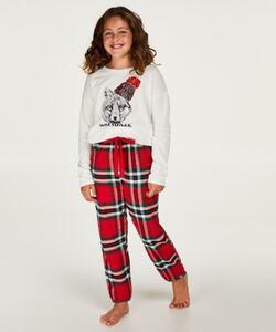 Hunkemöller Pyjama-Set für Teenager-Mädchen Rot