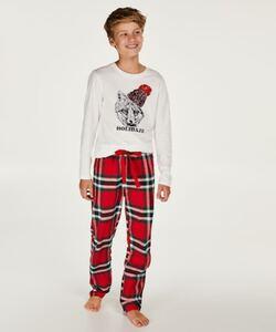 Hunkemöller Pyjama-Set für Teenager-Jungen Rot