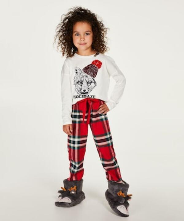 Hunkemöller Pyjama-Set für Kinder Mädchen Rot