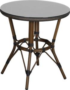 """PRIMASTER Tisch Valencia """"Ø 70 cm, Höhe 75 cm, rund, Bambusoptik"""""""