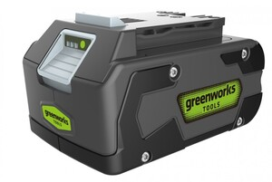 """Greenworks Lithium-Ionen Akku 24 V """"4 Ah, LED-Ladestandsanzeige, Gartengeräte und Werkzeuge"""""""