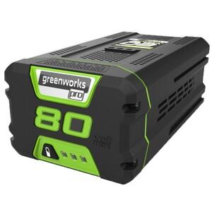 """Greenworks Akku 80 V """"4 Ah, LED-Ladestandsanzeige, Gartengeräte und Werkzeuge"""""""
