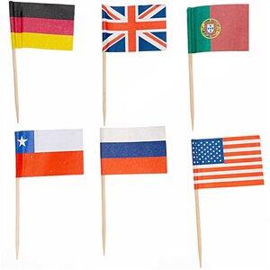Flaggen Pick 36 Stück