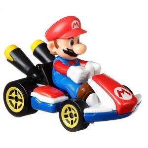 Hot Wheels - Mario Kart Die-Cast Fahrzeug, sortiert