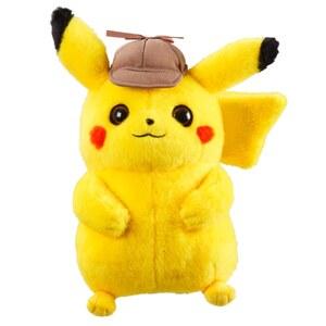 Pokémon - Meisterdetektiv Pikachu Plüschfigur, 20cm