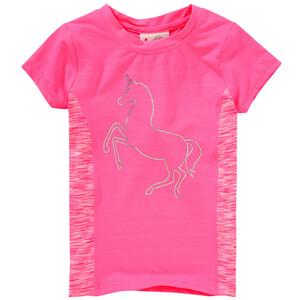 Mädchen Sport T-Shirt mit Einhorn-Print