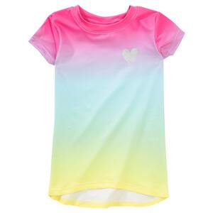 Mädchen Sport-T-Shirt mit Farbverlauf