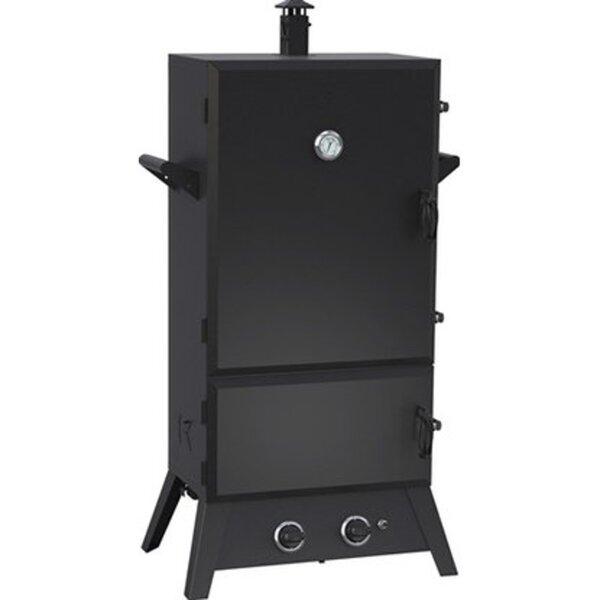 El Fuego Gasgrill-Smoker Portland XXL Schwarz