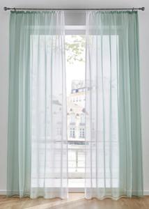 Transparente Gardinen mit Farbverlauf (2er Pack)